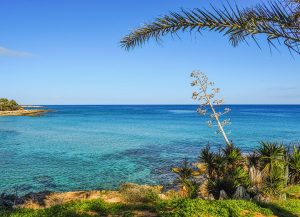 Cyprus typically has 325 days of sunshine per year.