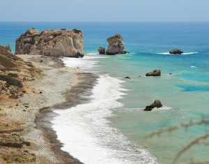 Every visitor to Cyprus should see Aphrodite's rock and the beach at Petra tou Romiou.