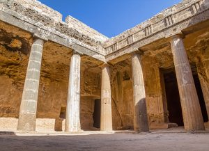 Carved into the cliffs overlooking the sea, the Tombs of the Kings will leave any visitor with a stunning impression of this seaside site.