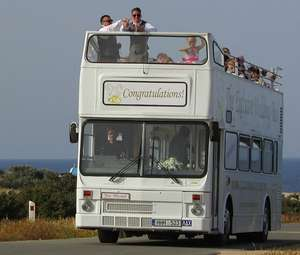 Cyprus Open Top Tour Bus