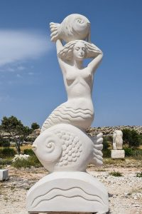 A statue of the Greek Goddess Aphrodite.