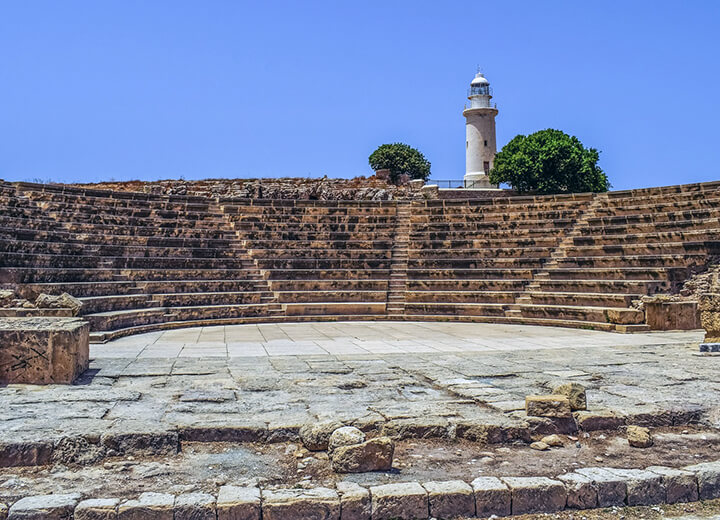 Ancient Odeon in Paphos