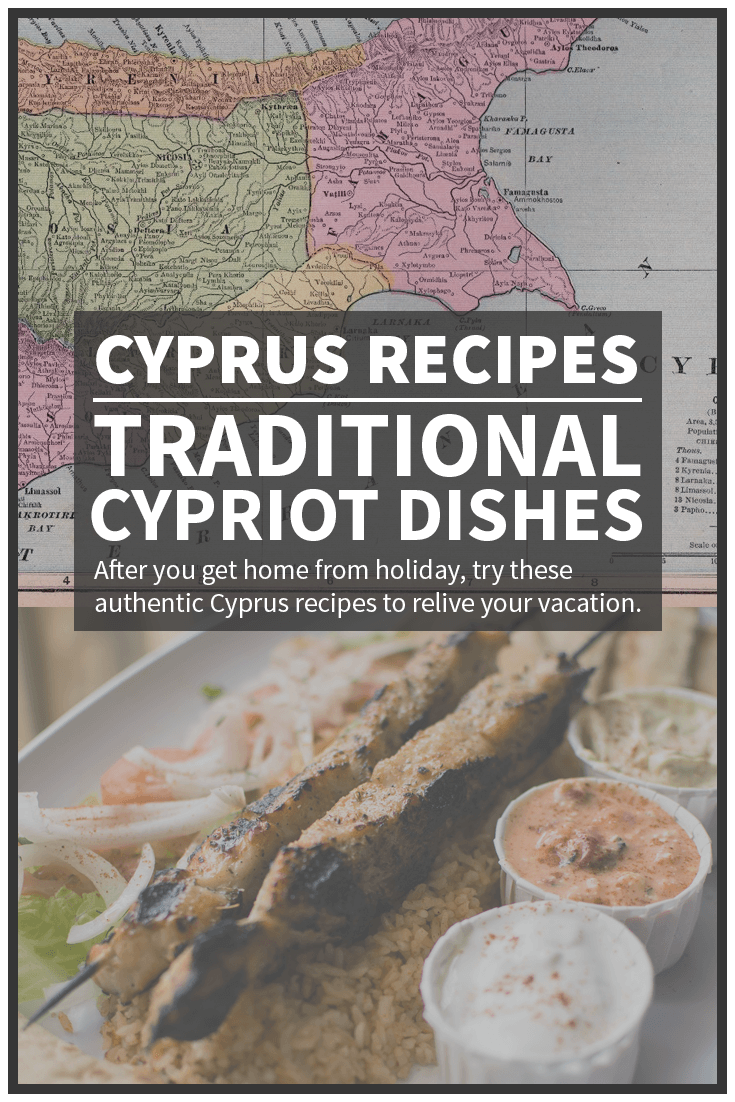 Recipes from Cyprus Pinterest image