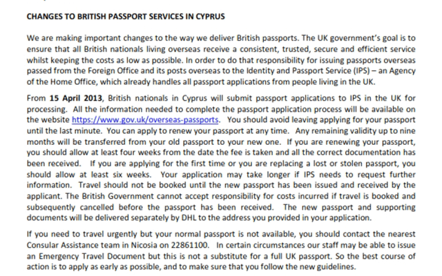 British Passport Changes