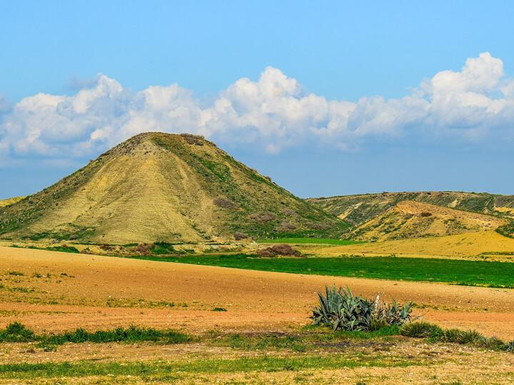 hill outside Meniko
